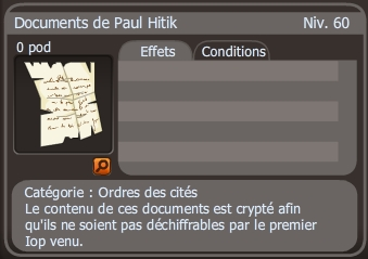 documents de paul hitik