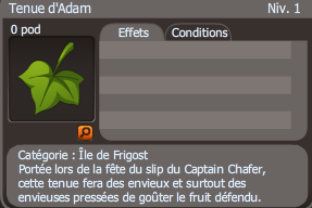 tenue d'adam dofus