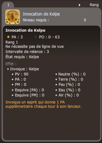 invocation de kelpe