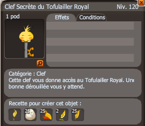 clef Tofulailler Royal
