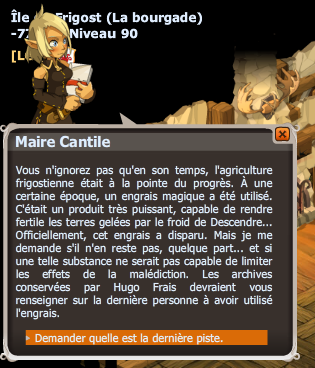 quete Mission Solution dofus