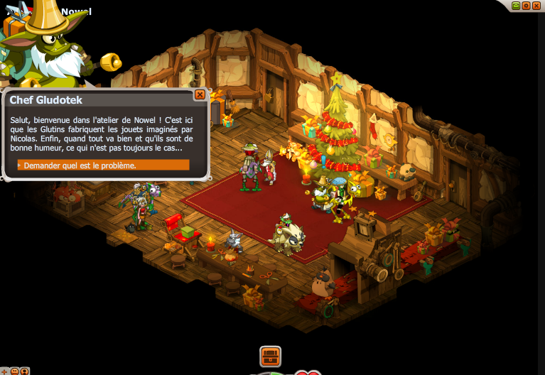 Distribution de marrons dofus