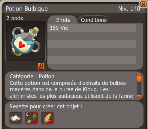 La potion bulbique