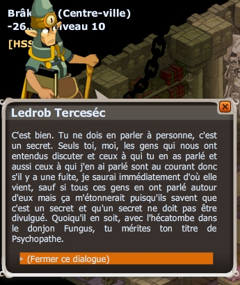Apprentissage Psychopathe