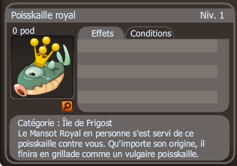Poisskaille royal dofus