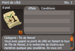 point de côté dofus