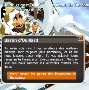 dofus guerre froide frigost