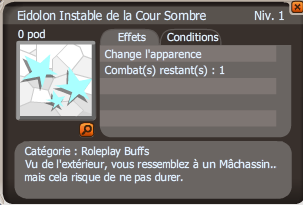 eidolon instable de la coursombre